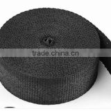 car exhaust pipe black fiber glass heat insulation wrap