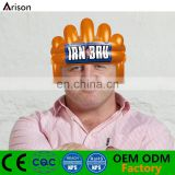 New inflatable big heads wigs inflatable helmet