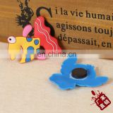 Factory supply fish design silicone refrigerator sticker magnet for home decoration