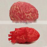 high quality top design Halloween ruber severed limbs bloody brain and latex heart