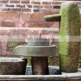 grinding millstone to decorative your garden