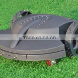 auto lawn mower, lead-acid battery, 2 pcs cutting blades garden machine