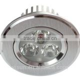 3x1W LED Down light shop spot light