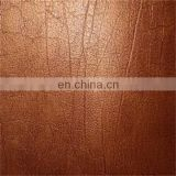 "Good embossing 54"" synthetic leather PVC leather"