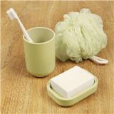 Xiaomi Mijia Likesome Wash Set 3 in 1 Kit Bath Sponge Toothbrush Cup Soap Box