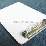 With special metal clip A5 MDF clipboard