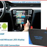 car wifi display mirrorlink direct mirroring cvbs output