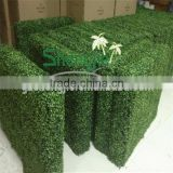 China artificial boxwood hedges for outdoor UV plastic boxwood hedges