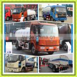 First Brand Dongfeng FAW Howo Foton High pressure Spraying Water Trucks 10000 Liters Water Sprinkling Bowser for water tank Sale