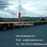 Goldhofer Type 20 axles Modular Trailer