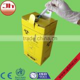 Most popular medical products waterproof carton boxes for hospital waste