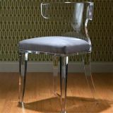 Hot Selling Designer Dining Chair Drawing Room Chair Set Design Acrylic Vanity Chair