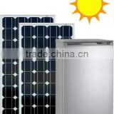 100L Integrated Solar Refrigerator with Built-in Lithium Battery