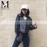 Ladies Latest Fashion Girl Casual Leather Jacket Real Women Leather Jackets