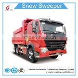 2017 China snow removal machine snow plow vehicle plough equipment for truck with salt spreader used for sale