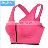 2017 Custom Hot sale Dry Fit running Wear for womens fitness gym bras