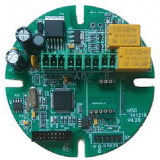 Prototype pcb assembly for hydrogen sulfide detection alarm