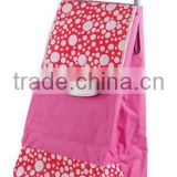 Two Wheels Folding Shopping Trolley Bag