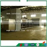 China Green Pea IQF tunnel Blast Food Quick Freezers