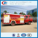 high performance 4x2 3cbm dongfeng water fire truck for hot sale