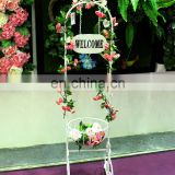 Welcome Garden Hanging-Basket Planter