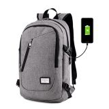 USB mobile charge High-quality Zipper hidden Anti theft laptop bags backpack