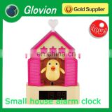 Best selling table alarm clocks colorful cuckoo clock funny battery clock