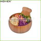 Natural Bamboo Salad Bowl Set for Sale/Homex_Factory