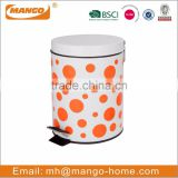 metal Kitchen garbage waste bin