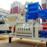JS series double horizontal shaft forced mixer for sale