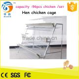 automatic chicken farm new design layer types of layer chicken cages for zimbabwe poultry farms HT-JL