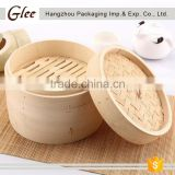 wholesale chinese mini dim sum bamboo steamer basket
