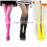 Wholesale Gothic Clothing New Fashion Cheap Candy Color Rainbow Gradient Vintage Sexy Girls Tights