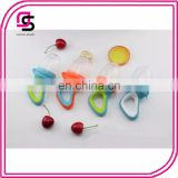 Baby fresh food fruit silicone feeder cute baby teether toy with handgrip for babies