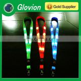 led spot light lanyard customized logo is available ultra-high-bright led light lanyard