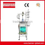 100L Explosion-proof Jacketed Glass Reactor Reaction Kettle Price With Exd II BT4 Explosion-proof Grade