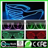 Best service Christmas glasses with led light