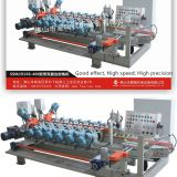 ceramic tile squaring and chamfering machine