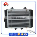 China Factory Supply Top Quality Vehicle Spare Parts Motorcycle Radiator With Aluminum Radiator Core