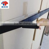 Quick fastening hook and loop pallet strap logistic strap