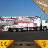 Top brand bump truck,DNPT-21 official manufacturer 39m truck mounted concrete pump truck for sale
