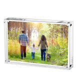 New Arrival Desktop Acrylic Picture Holder Transparent Landmark Photo Frame Kids Photo Frame