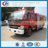 high performance dongfeng 4x2 3m3 water fire truck for hot sale