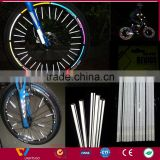 Fluorescent glow in the dark reflective accesories bike reflection