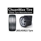 265/45R22 Tire China Tyre Manufactory