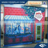 Telescopic Large folding pop up banner stand