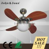 100% Sale Service Decorative Remote Control Ceiling Fan