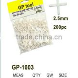 GP1003 tile spacers 2.5mm