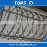 Low Price Galvanized Concertina Razor wire