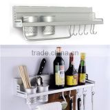 New Arrival Home Kitchen Shelf Storage Rack Spice Tool Holder Seasoning Sooktops Wall Kitchen Rack Kitchen Cooking Seafood Tools